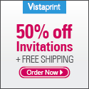 vistaprint invatations coupons